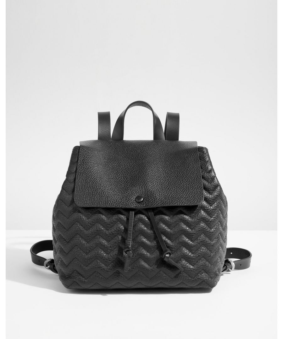 Image for Blake Quilted Leather Backpack