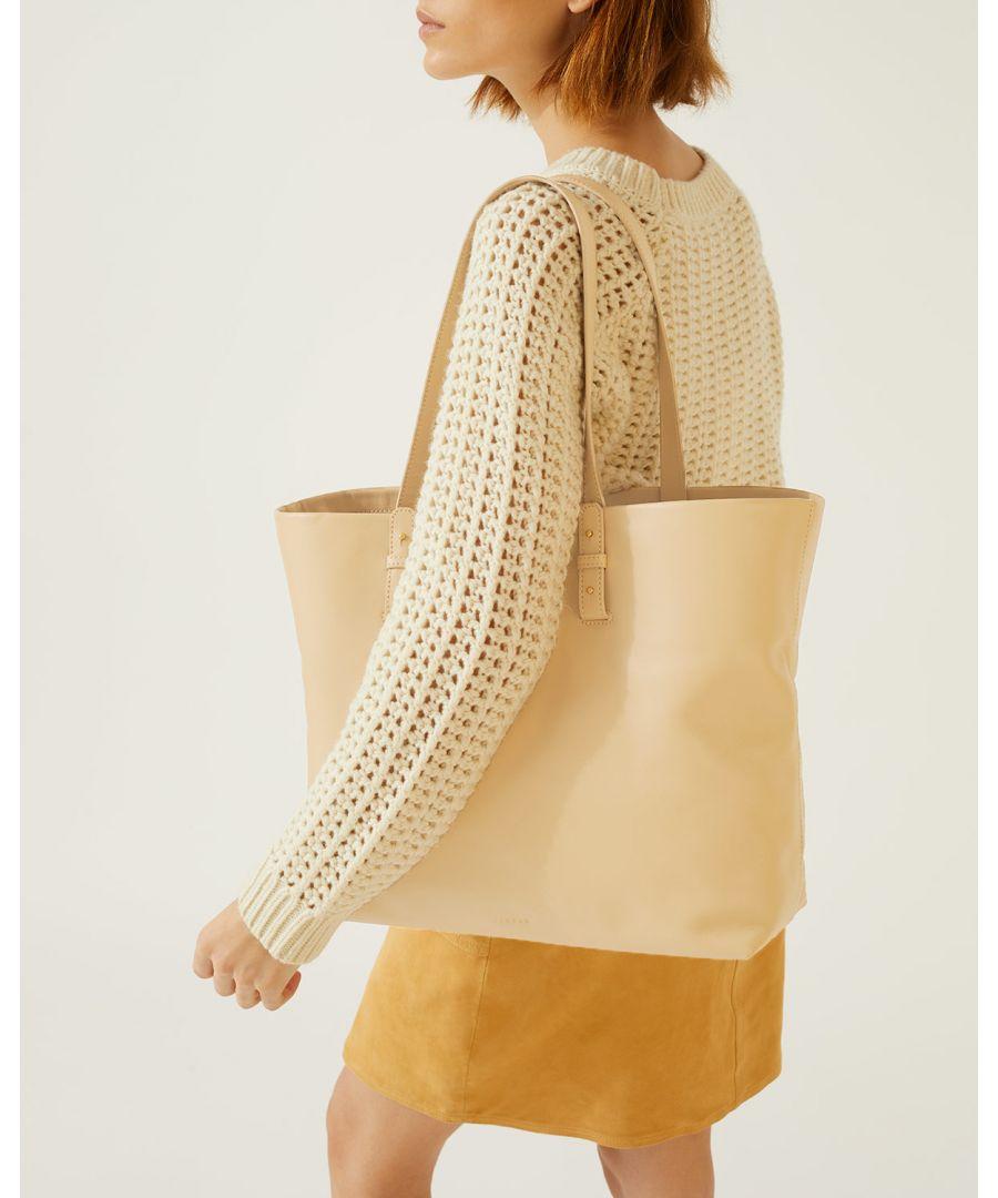 Image for Bridget Leather Tote Bag
