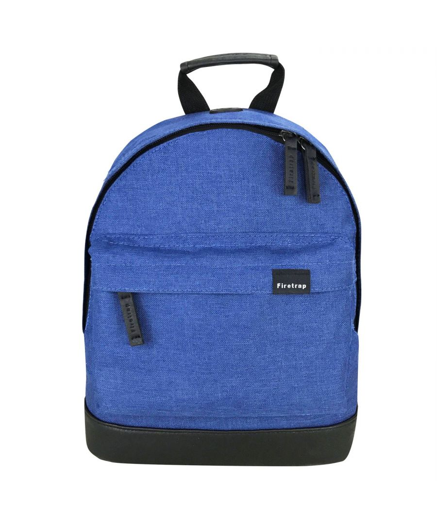 Image for Firetrap Mini Backpack Rucksack Sports Casual Travel Luggage Accessory