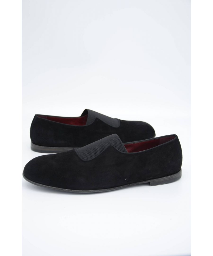 Image for Dolce & Gabbana Men Suede Loafers