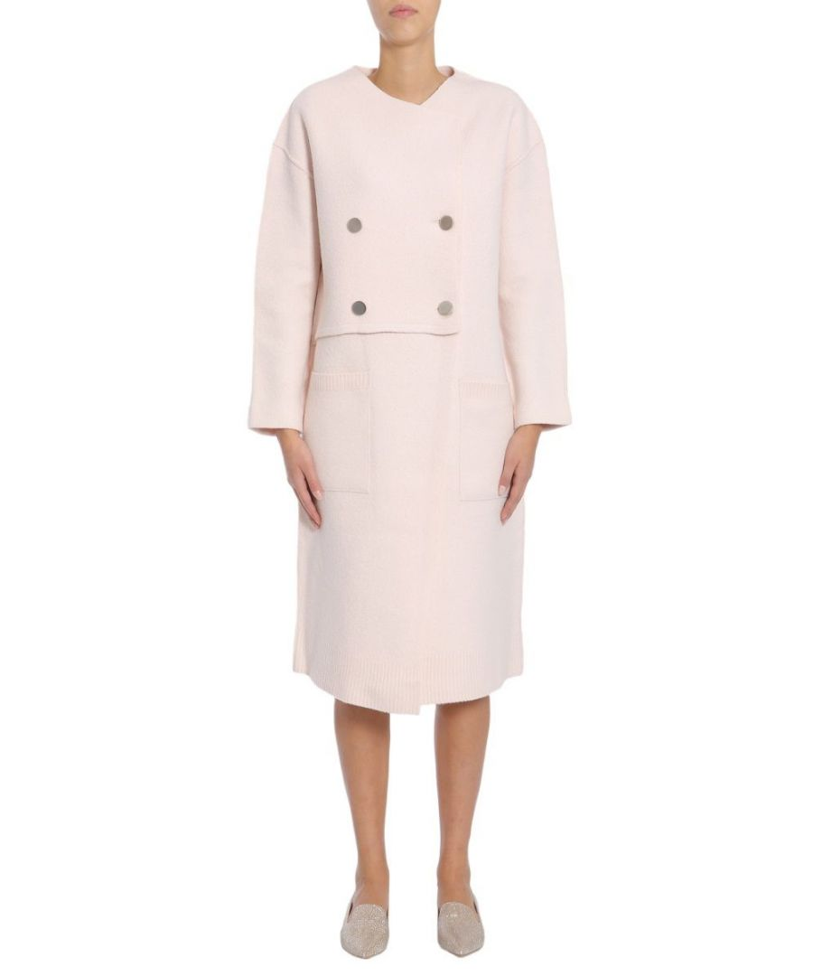 Image for PROENZA SCHOULER WOMEN'S R174786KW06000811 PINK WOOL COAT