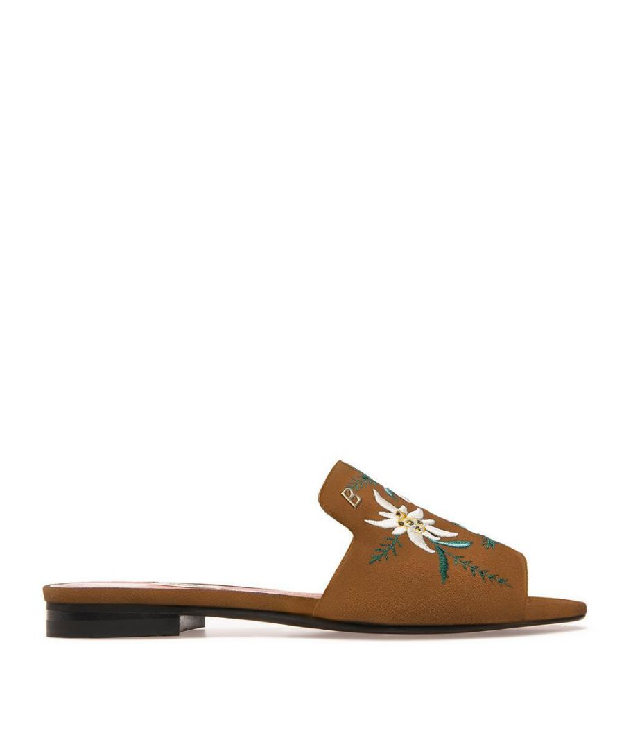 Image for Bally Ladies Slider in Brown