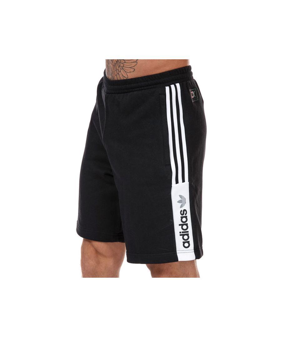 Image for adidas Men's Originals Nutasca Shorts in Black-White