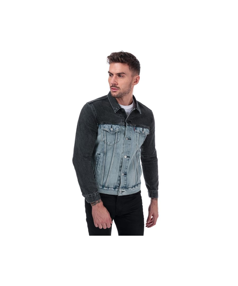 Image for Men's Levis The Trucker Jacket in Denim