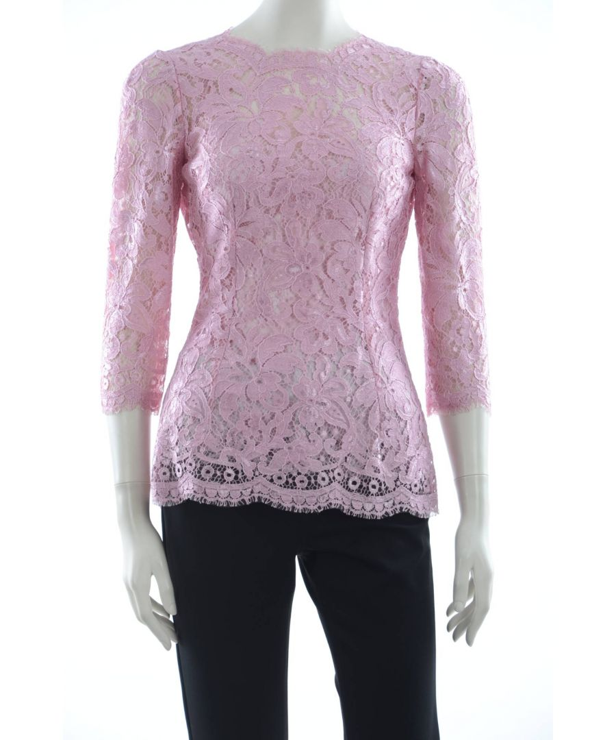 Image for Dolce & Gabbana Women Lace Top
