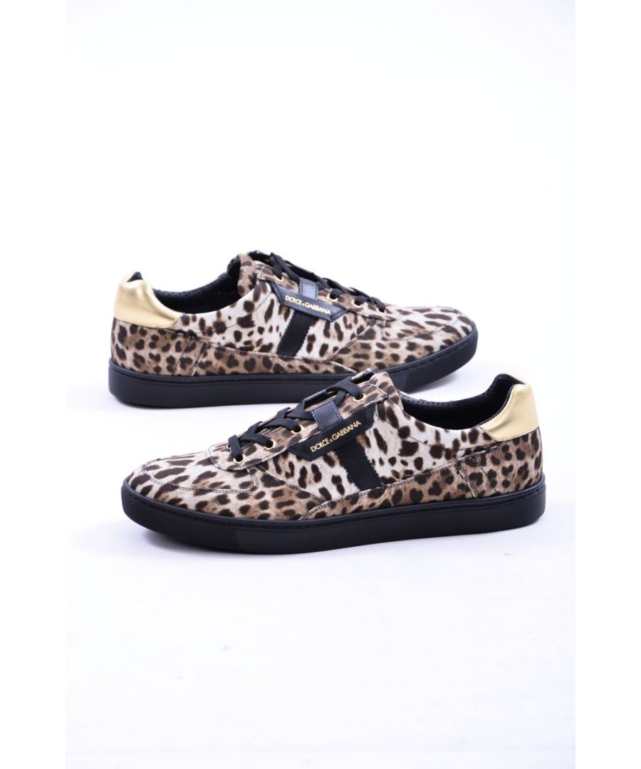Image for Dolce & Gabbana Men's Print Animal Sneakers