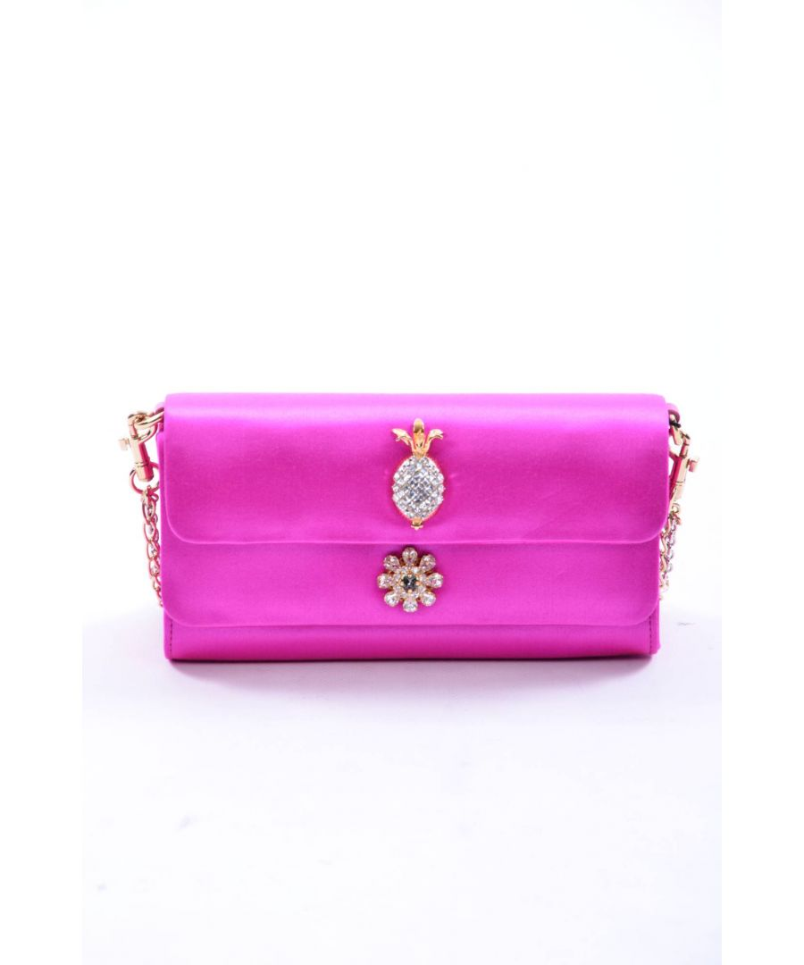 Image for Dolce & Gabbana Women Satin Clutch Bag