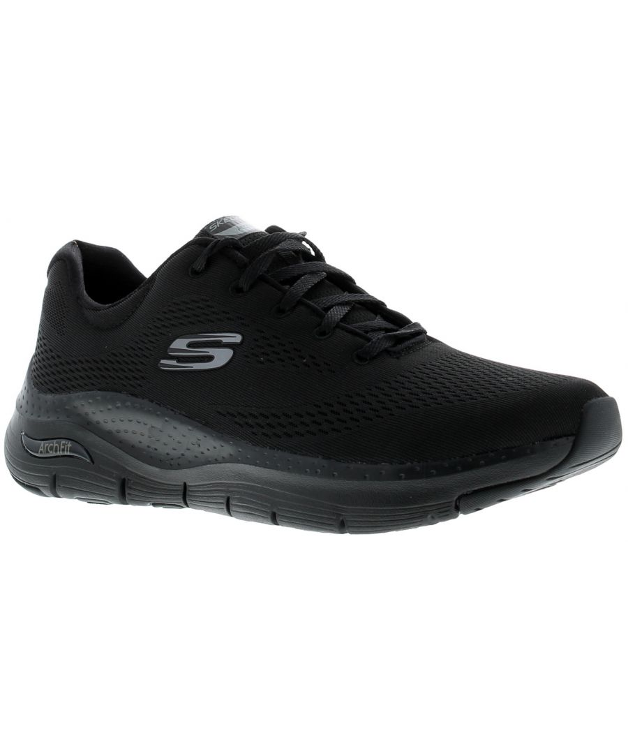 Image for Skechers Arch Fit Big Appeal Unisex Trainers Black