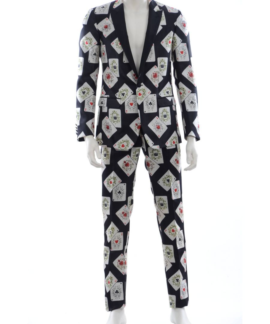 Image for Dolce & Gabbana Men Suit Playing Cards