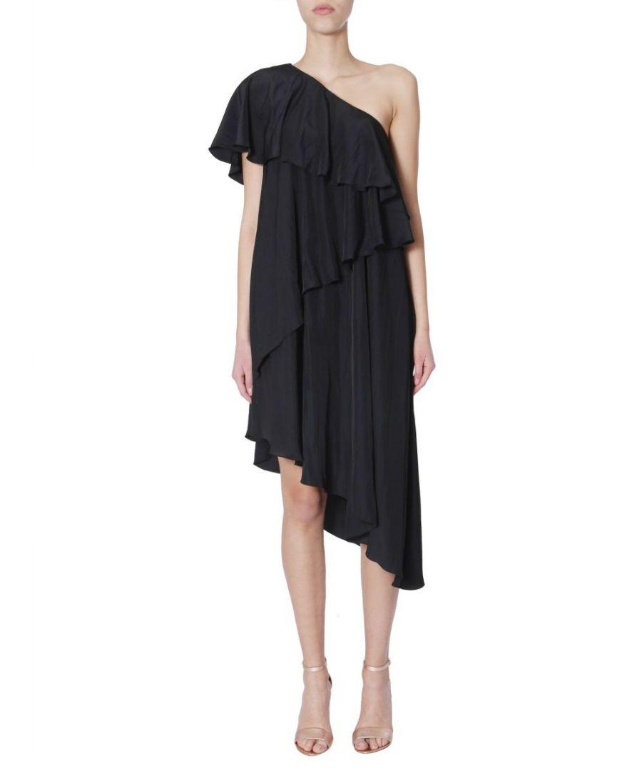 Image for LANVIN WOMEN'S RWDR200U2638P1910 BLACK POLYESTER DRESS