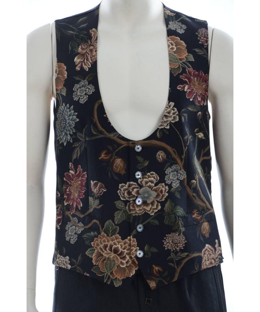 Image for Dolce & Gabbana Men Printed Vest
