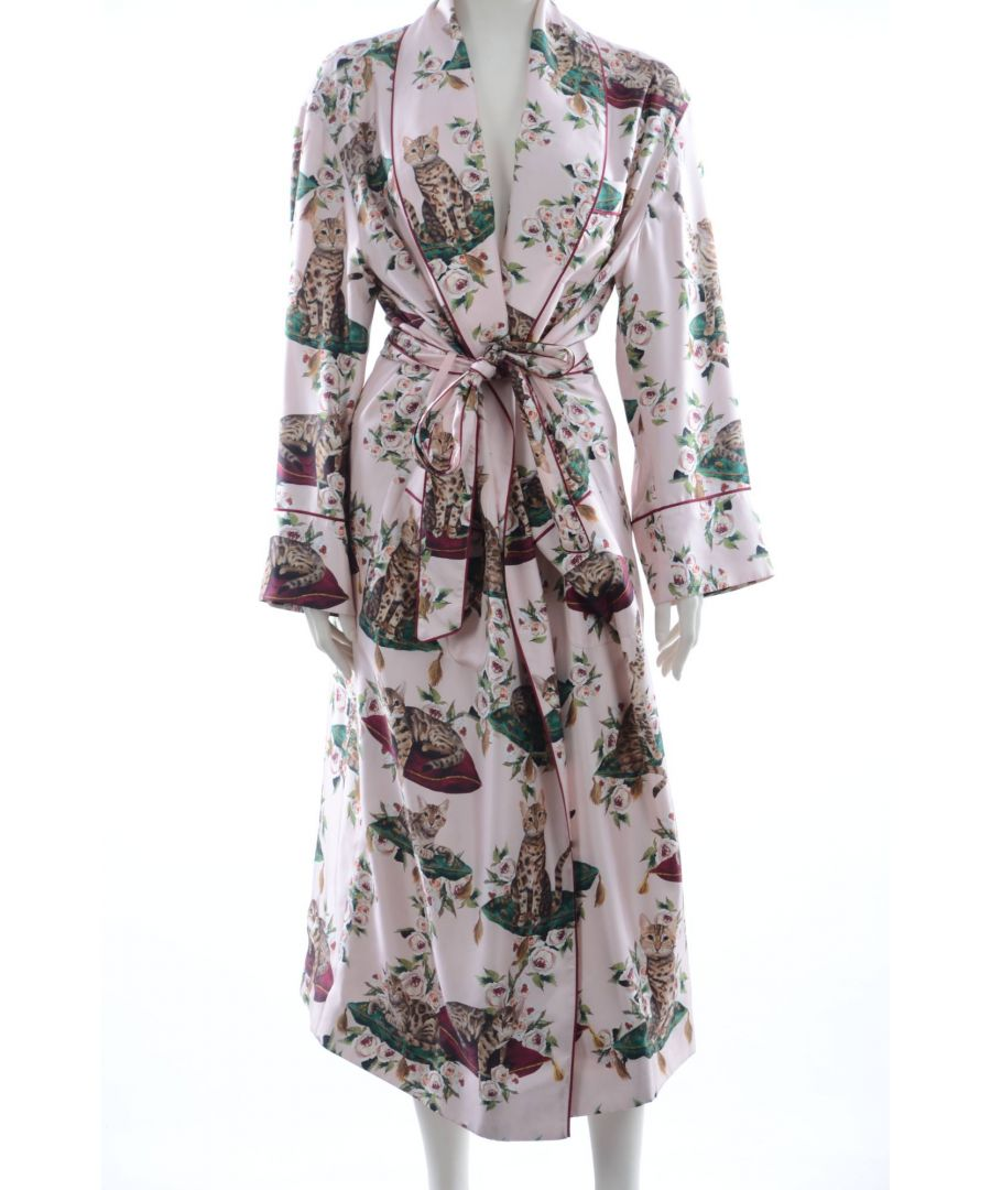 Image for Dolce & Gabbana Women Silk Nightgown
