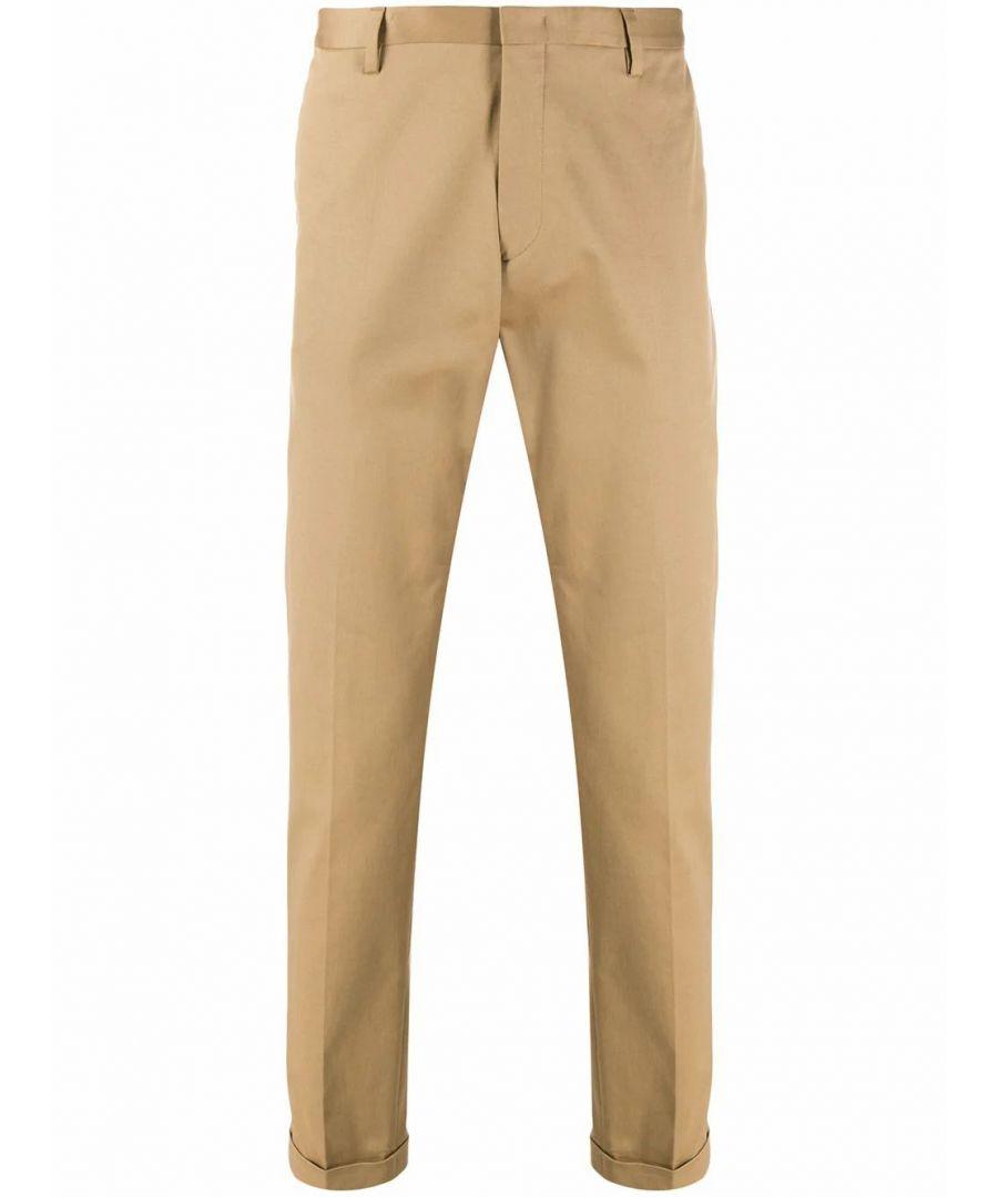 Image for PAUL SMITH MEN'S M1R150MD0003173 BEIGE COTTON PANTS