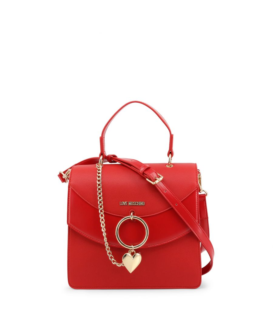 Image for Love Moschino Women's Shoulder Strap Bag in Red