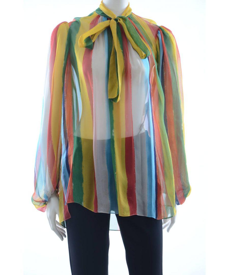 Image for Dolce & Gabbana Women Silk Blouse