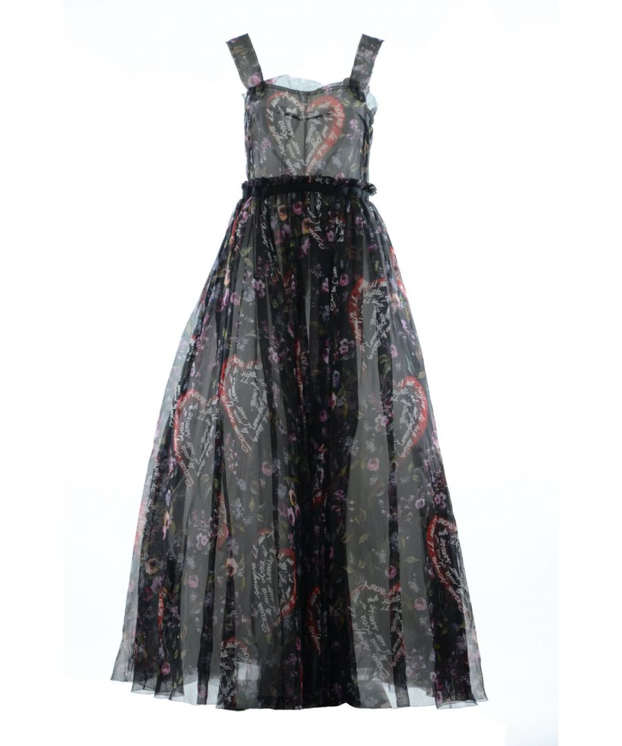 Image for Dolce & Gabbana Women's Print Long Dress