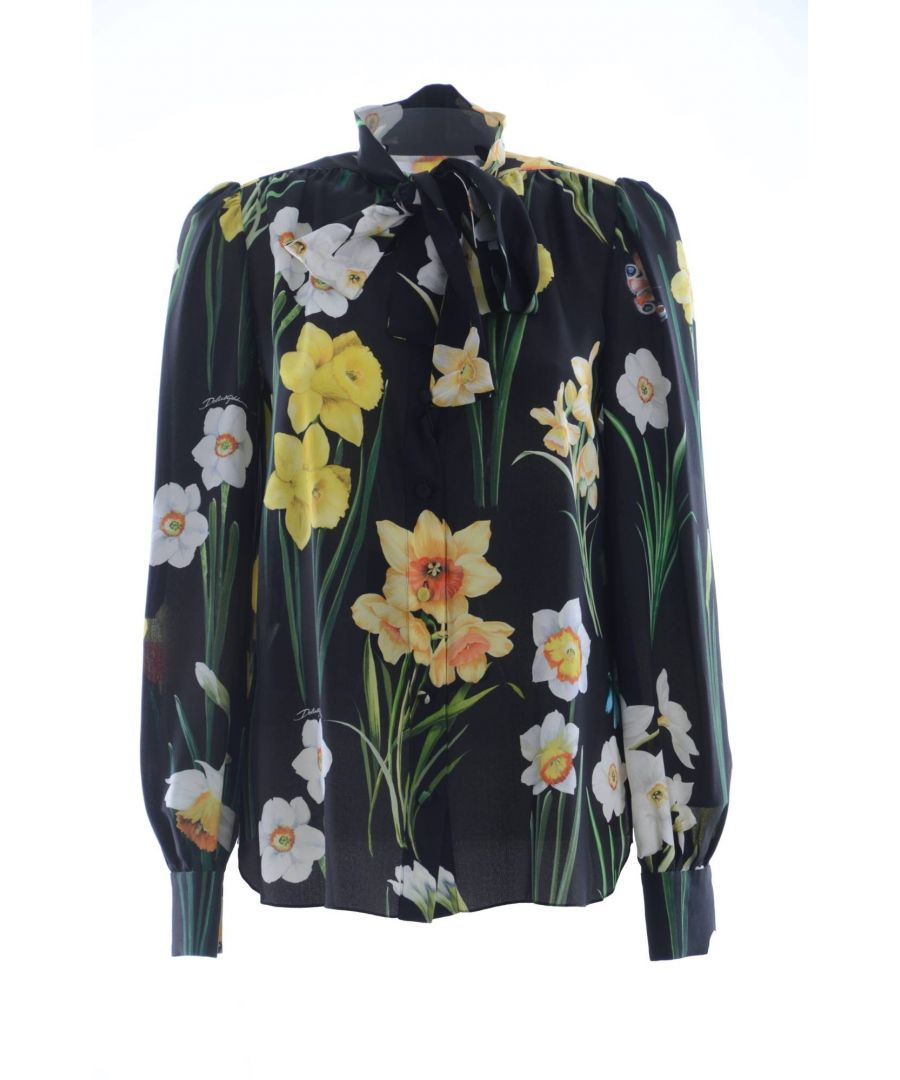 Image for Dolce & Gabbana Women's Silk Blouse