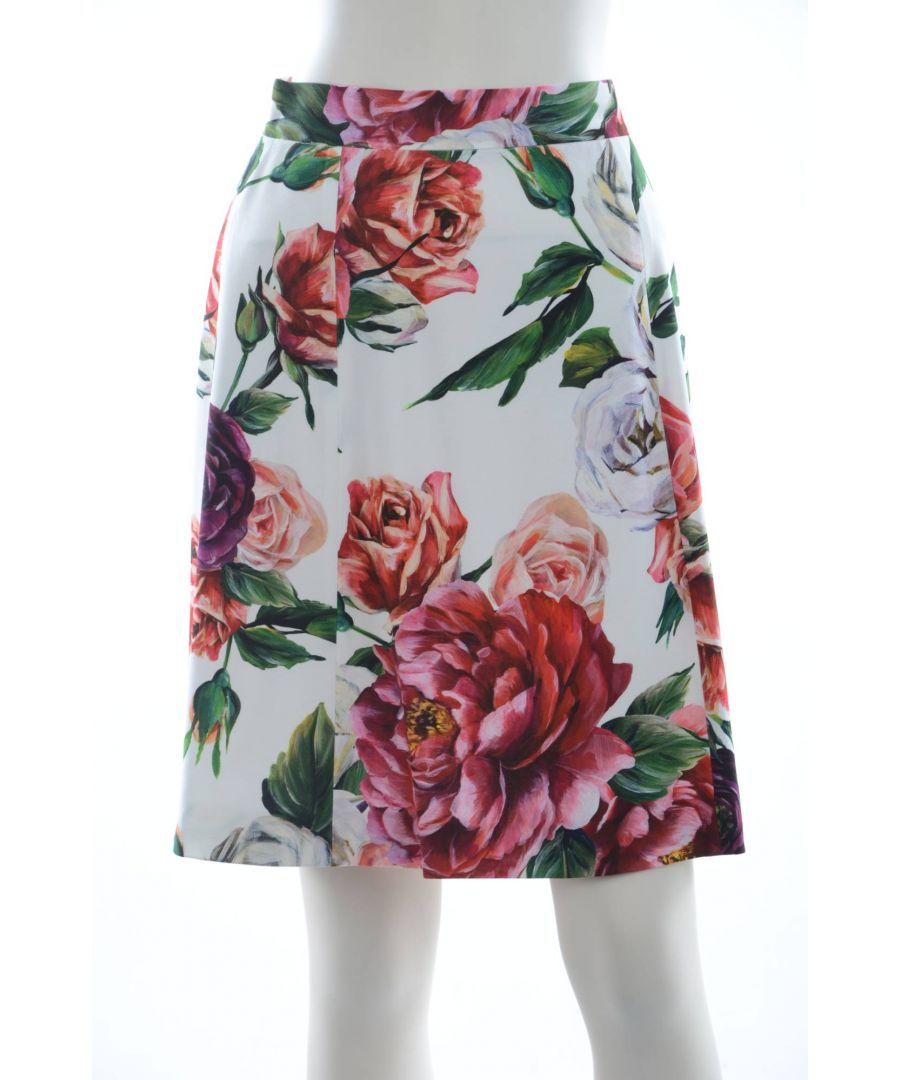 Image for Dolce & Gabbana Women Floral Skirt