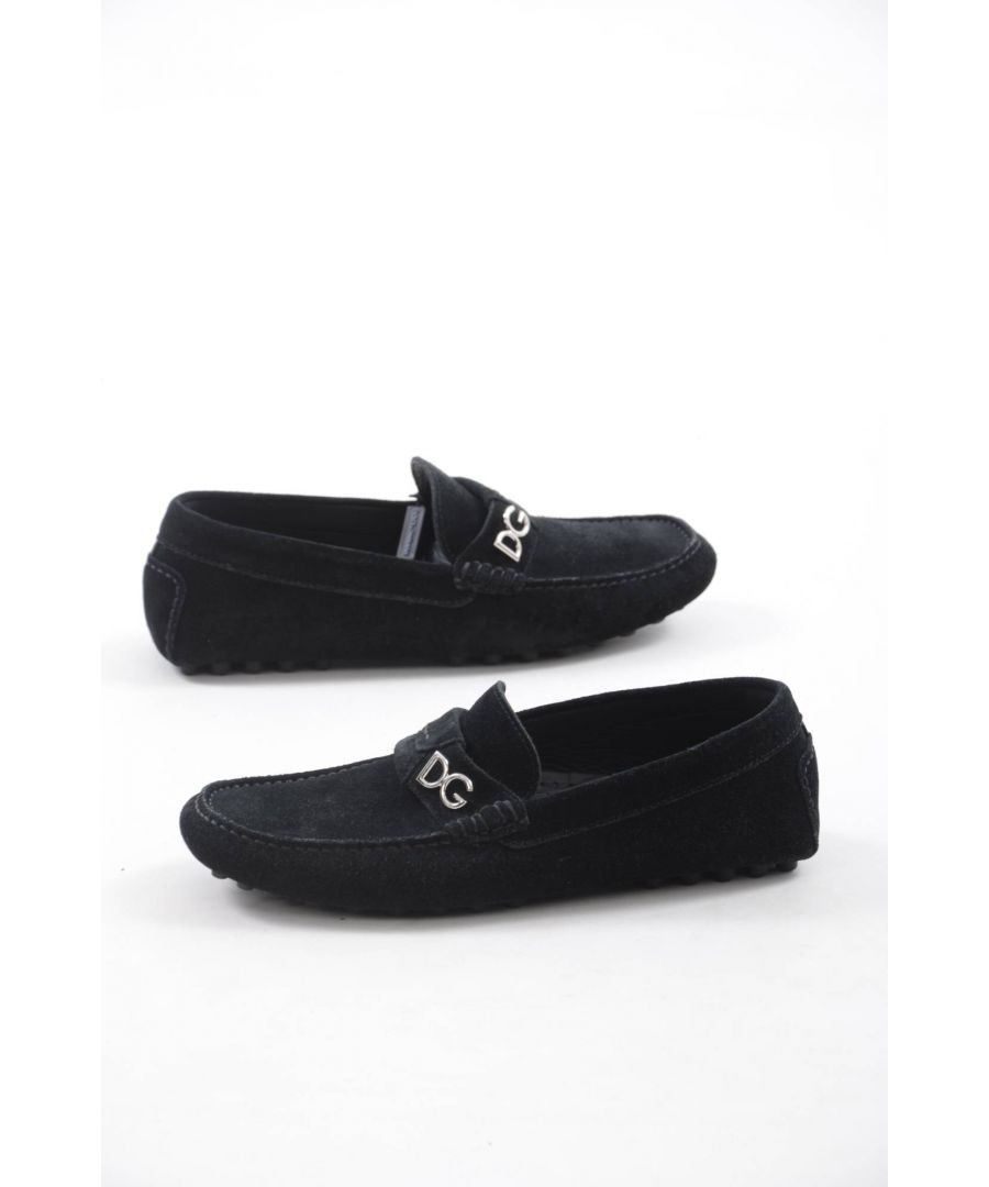Image for Dolce & Gabbana Men Drivers Rubber Sole Shoes