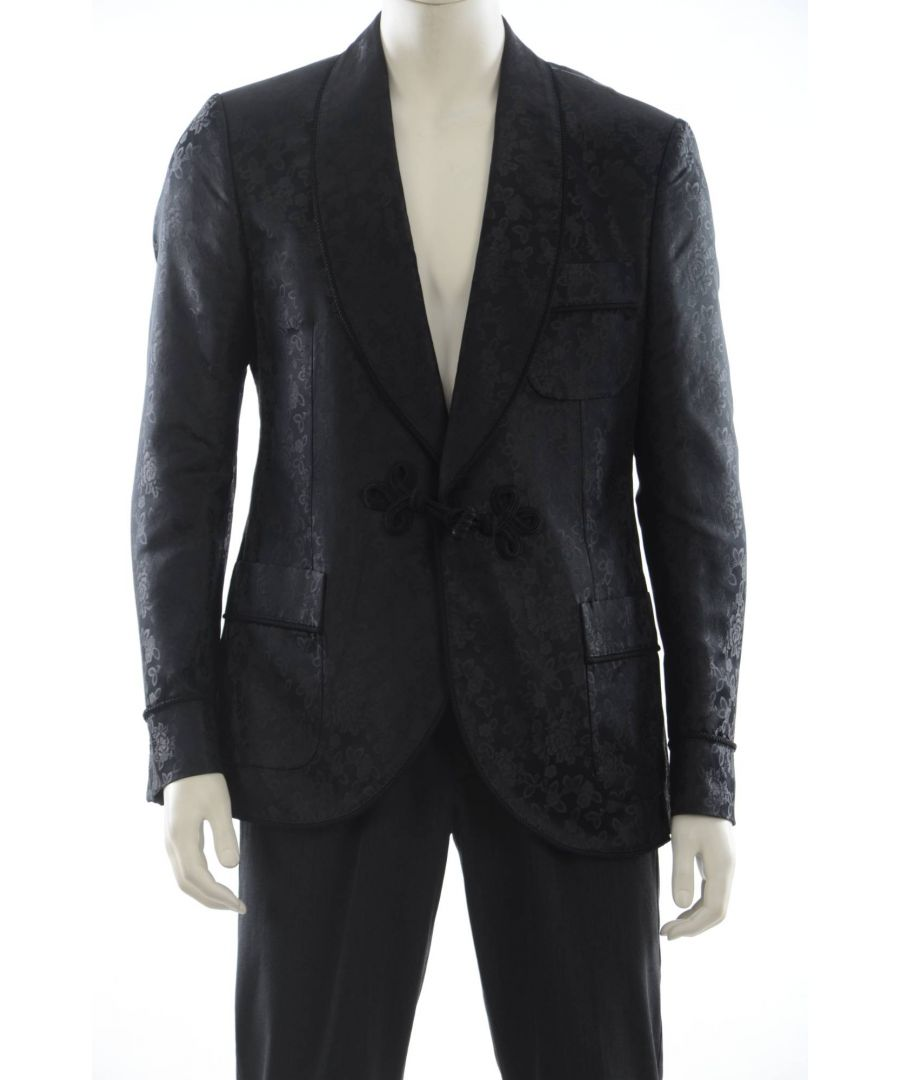 Image for Dolce & Gabbana Men's Silk Suit Jacket