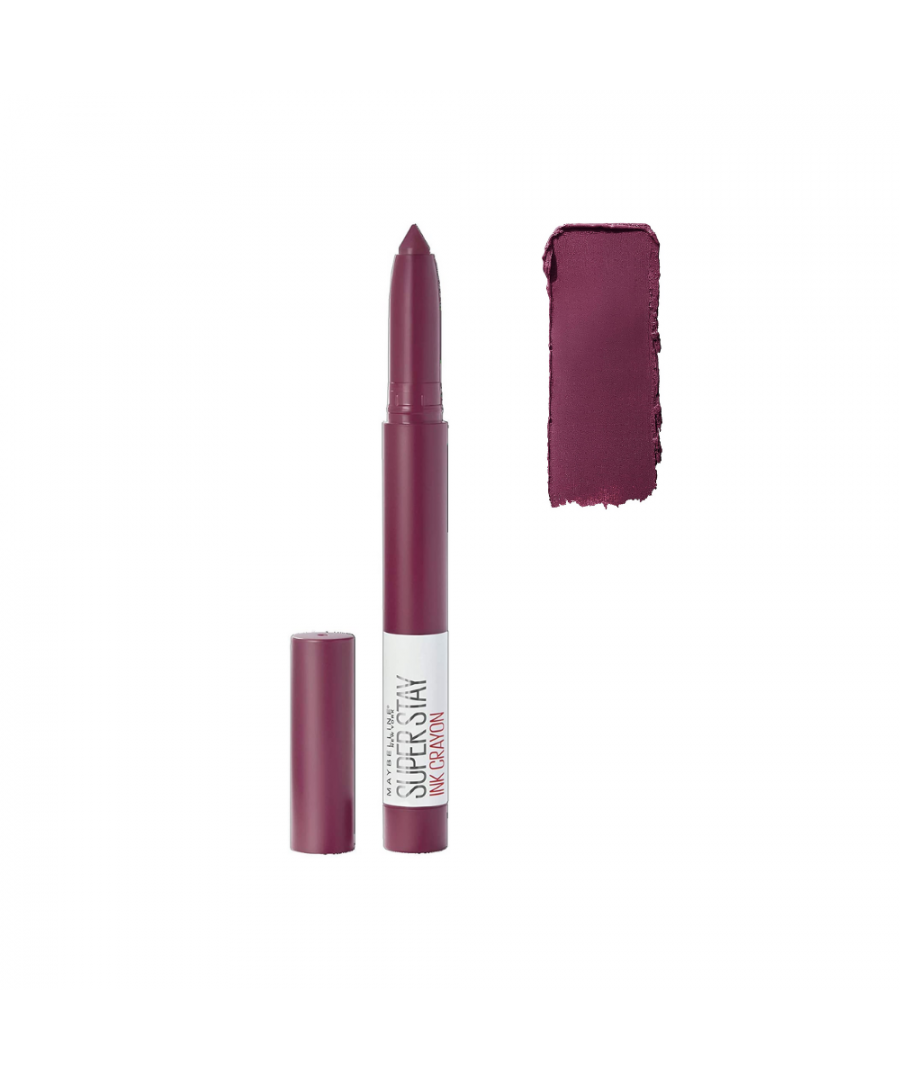 Image for Maybelline new york superstay ink crayon - 60 accept a dare