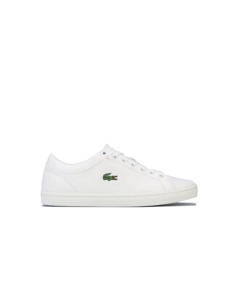 Image for Women's Lacoste Straightset Trainer in White