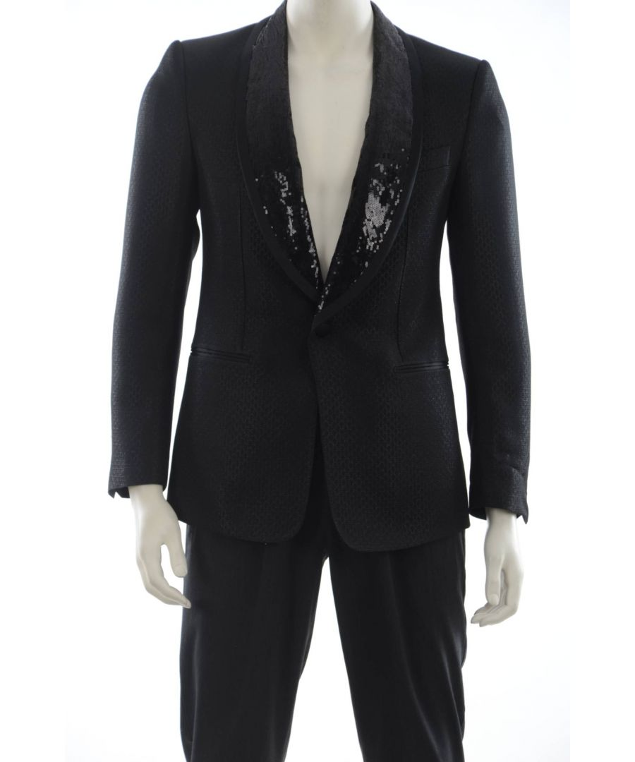Image for Dolce & Gabbana 1 Button Suit Jacket