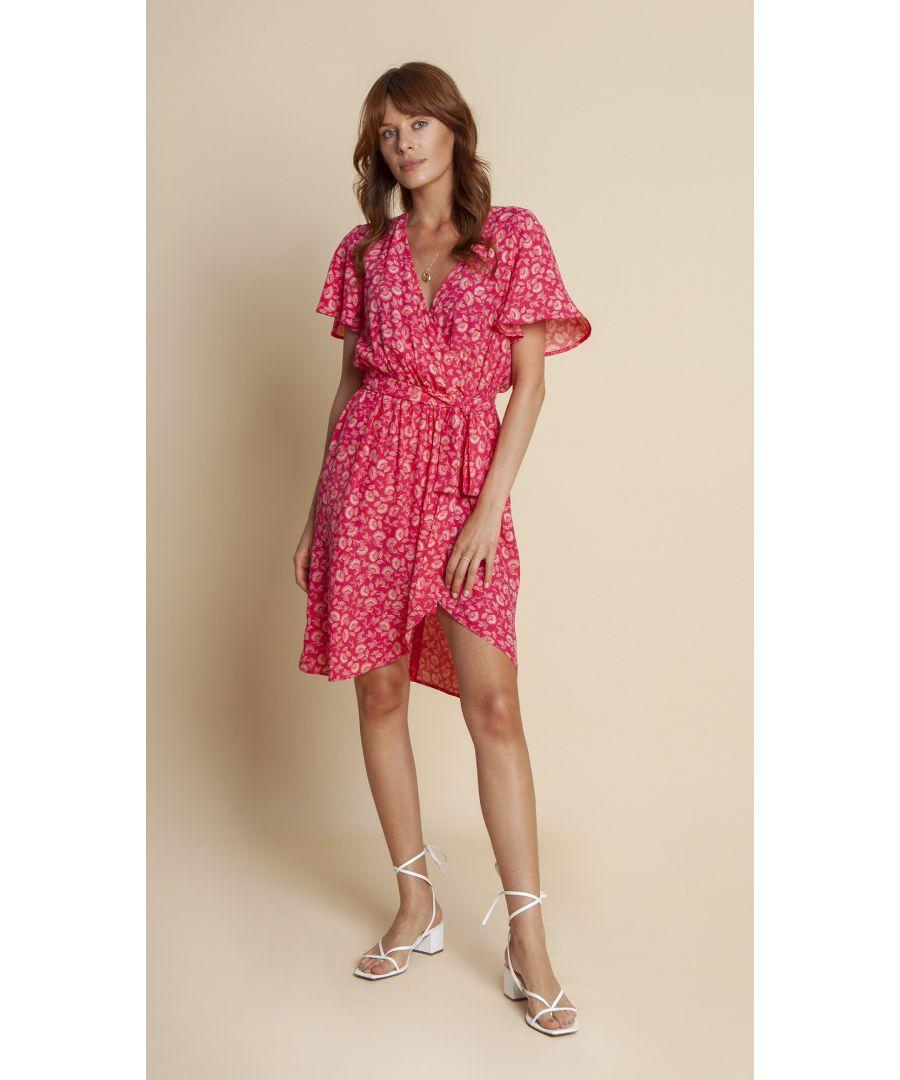 Image for Dress Marie Floral Amaranthine