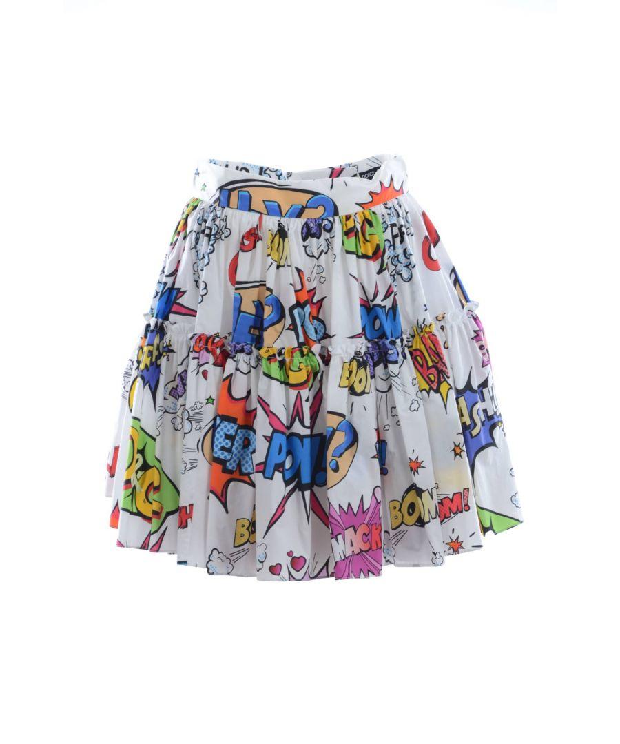Image for Dolce & Gabbana Women Printed Mini Skirt