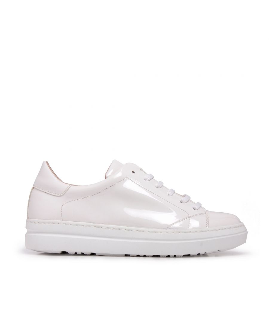 Image for Classic Sport Shoes Laces Women Sneakers White María Barceló