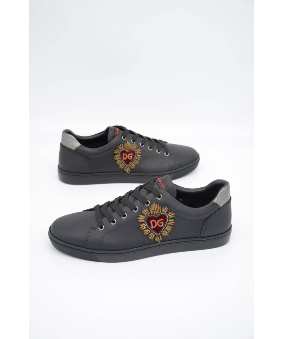 Image for Dolce & Gabbana Men Embroidered Low-top Sneakers