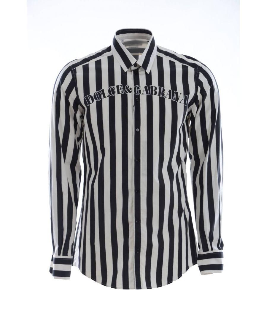 Image for Dolce & Gabbana Men Striped Shirt