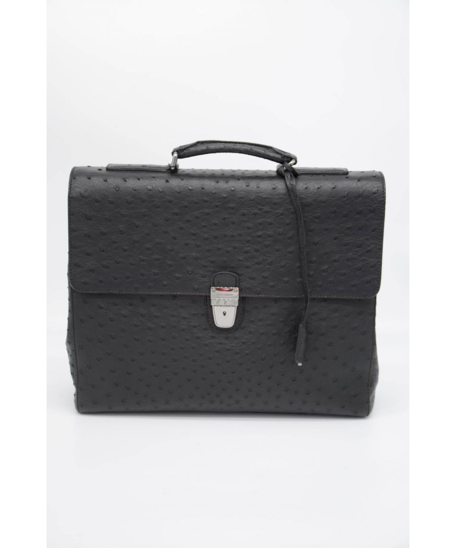 Image for Dolce & Gabbana Men Leather Briefcase