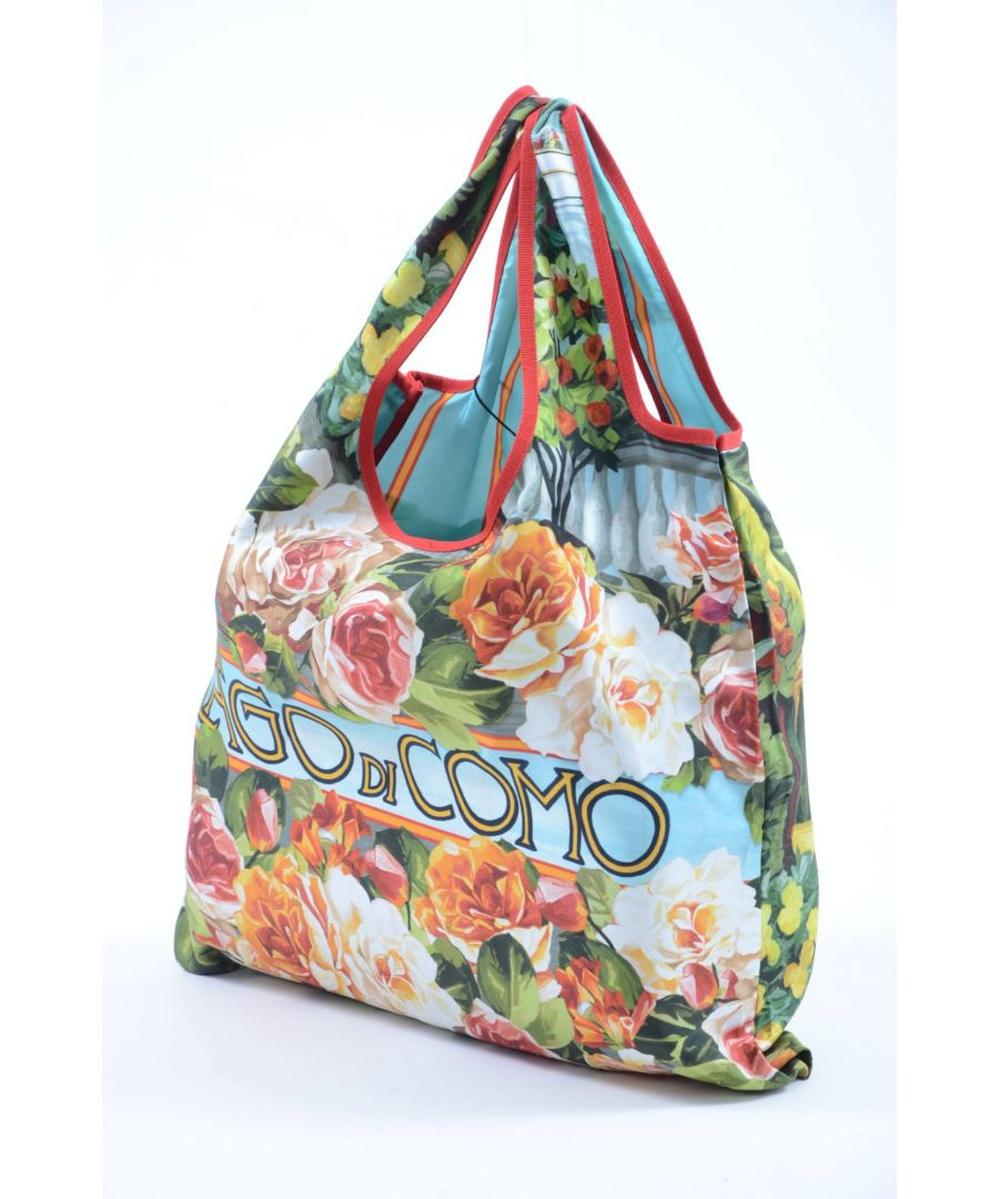 Image for Dolce & Gabbana Women Silk Lago di Como Tote Bag