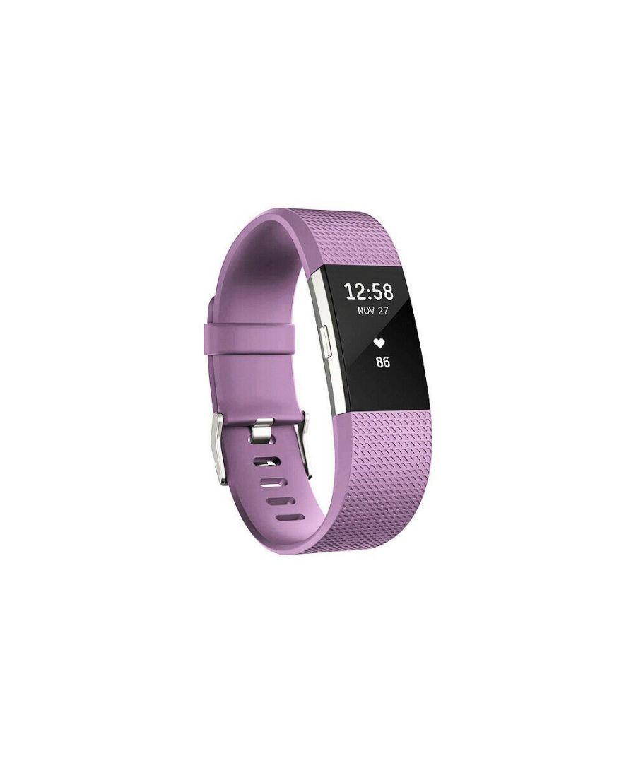 Image for Aquarius Fitbit Charge 2 Classic Replacement Straps Lilac
