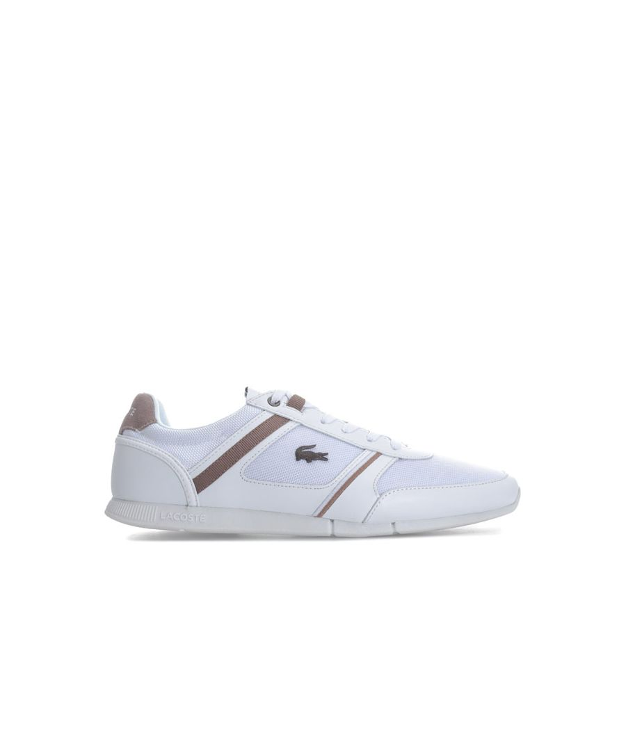 Image for Men's Lacoste Menerva 218 1 JD CAM Trainers in White