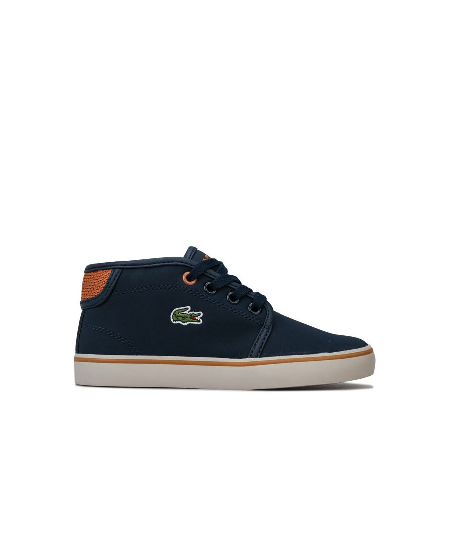 Image for Boy's Lacoste Infant 318 Ampthill Trainers in Navy