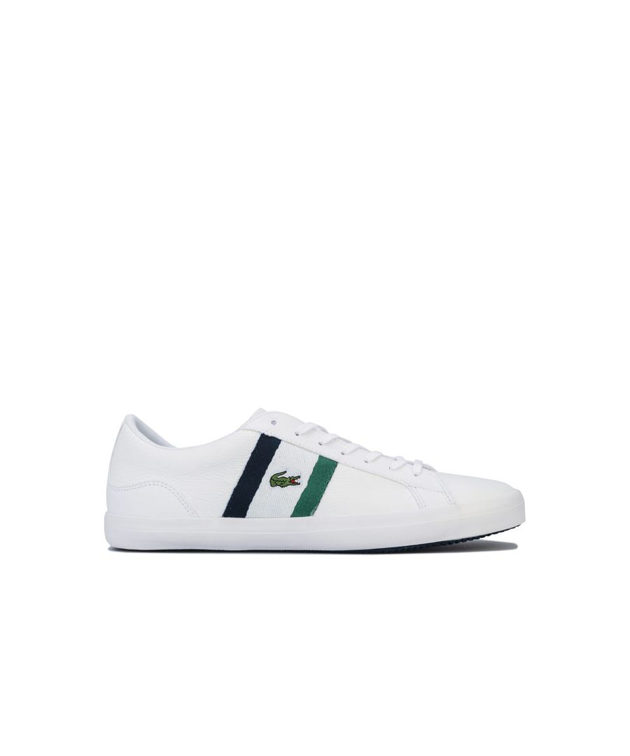 Image for Men's Lacoste Lerond 119 3 CMA Trainers in White Navy