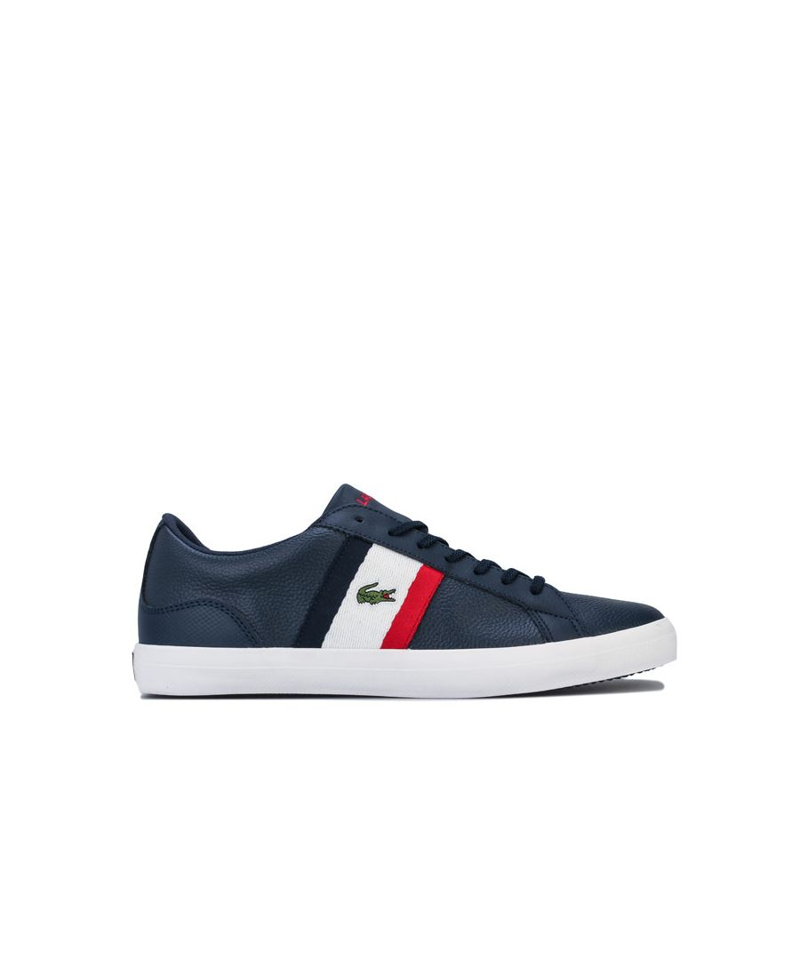 Image for Men's Lacoste Lerond 119 3 CMA Trainers in Navy-White