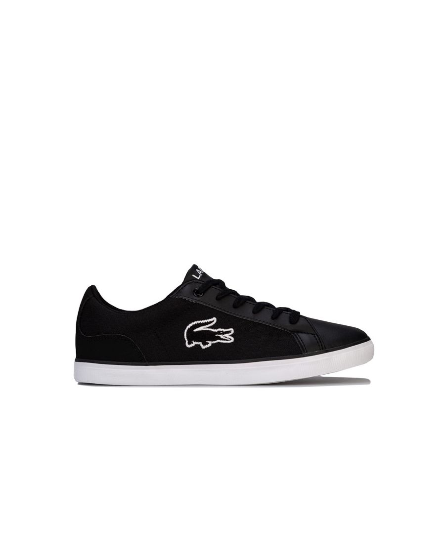 Image for Boy's Lacoste Infant Lerond Trainers in Black