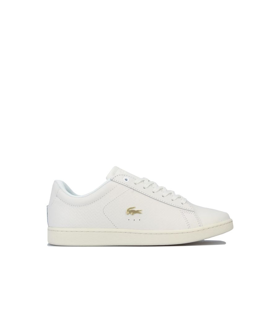 Image for Women's Lacoste Carnaby Evo 119 Trainer in White