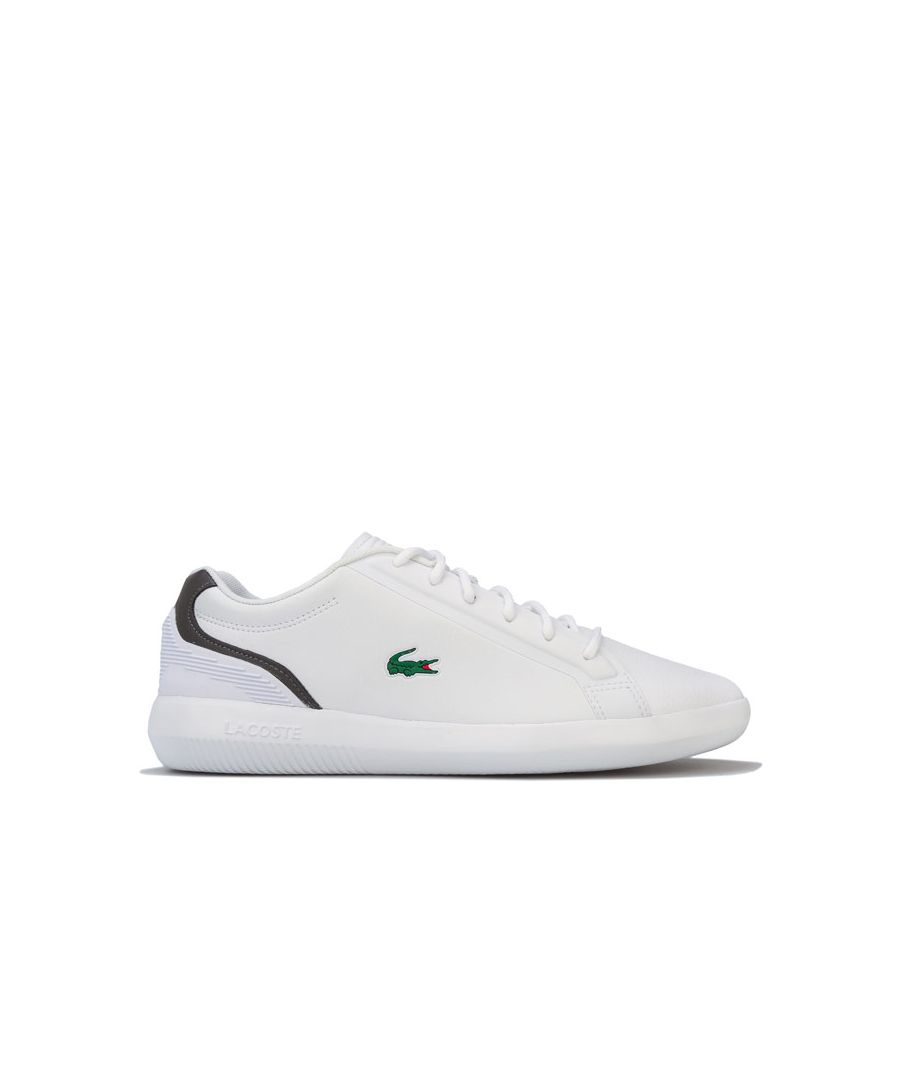 Image for Men's Lacoste Avantor 119 Trainers in White Grey