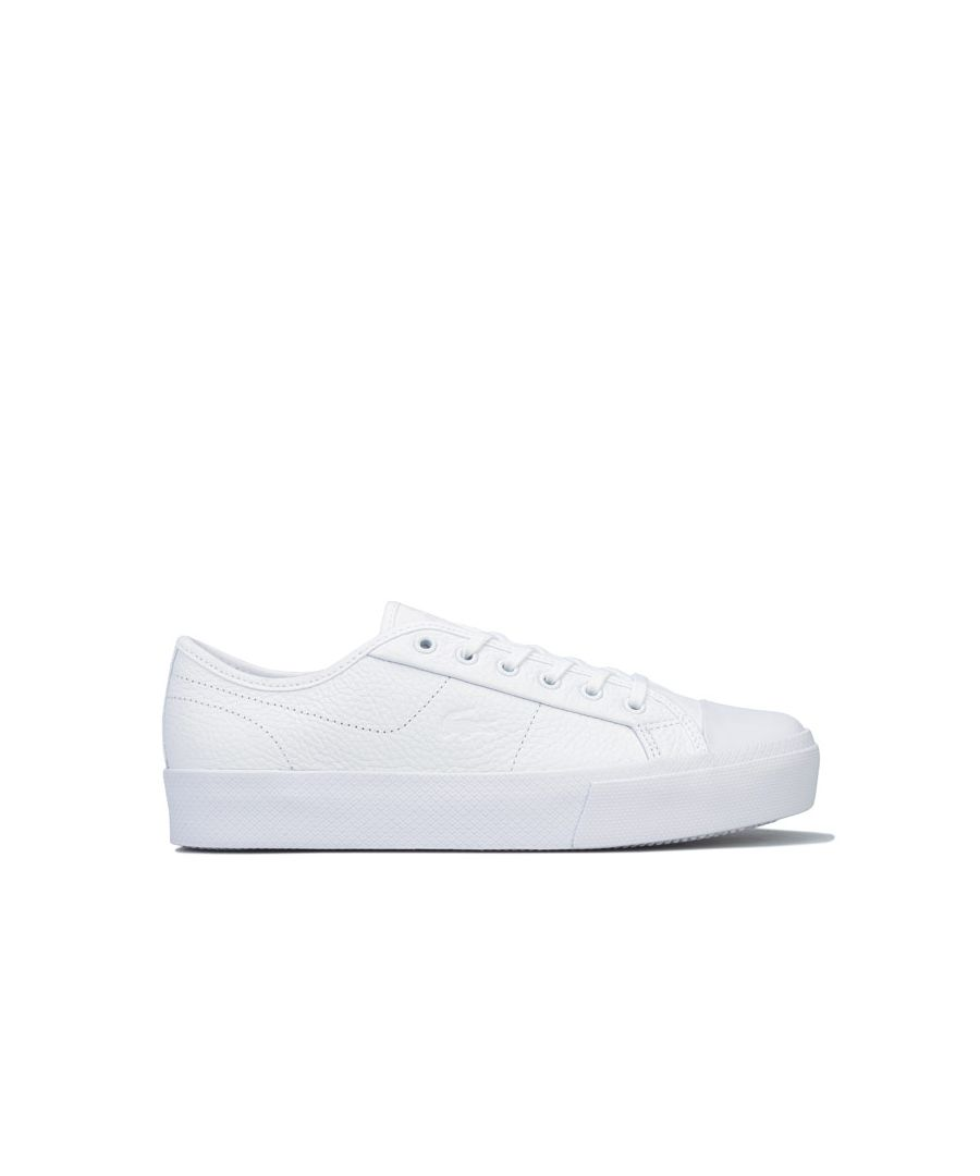 Image for Women's Lacoste Ziane Plus Grand Trainers in White