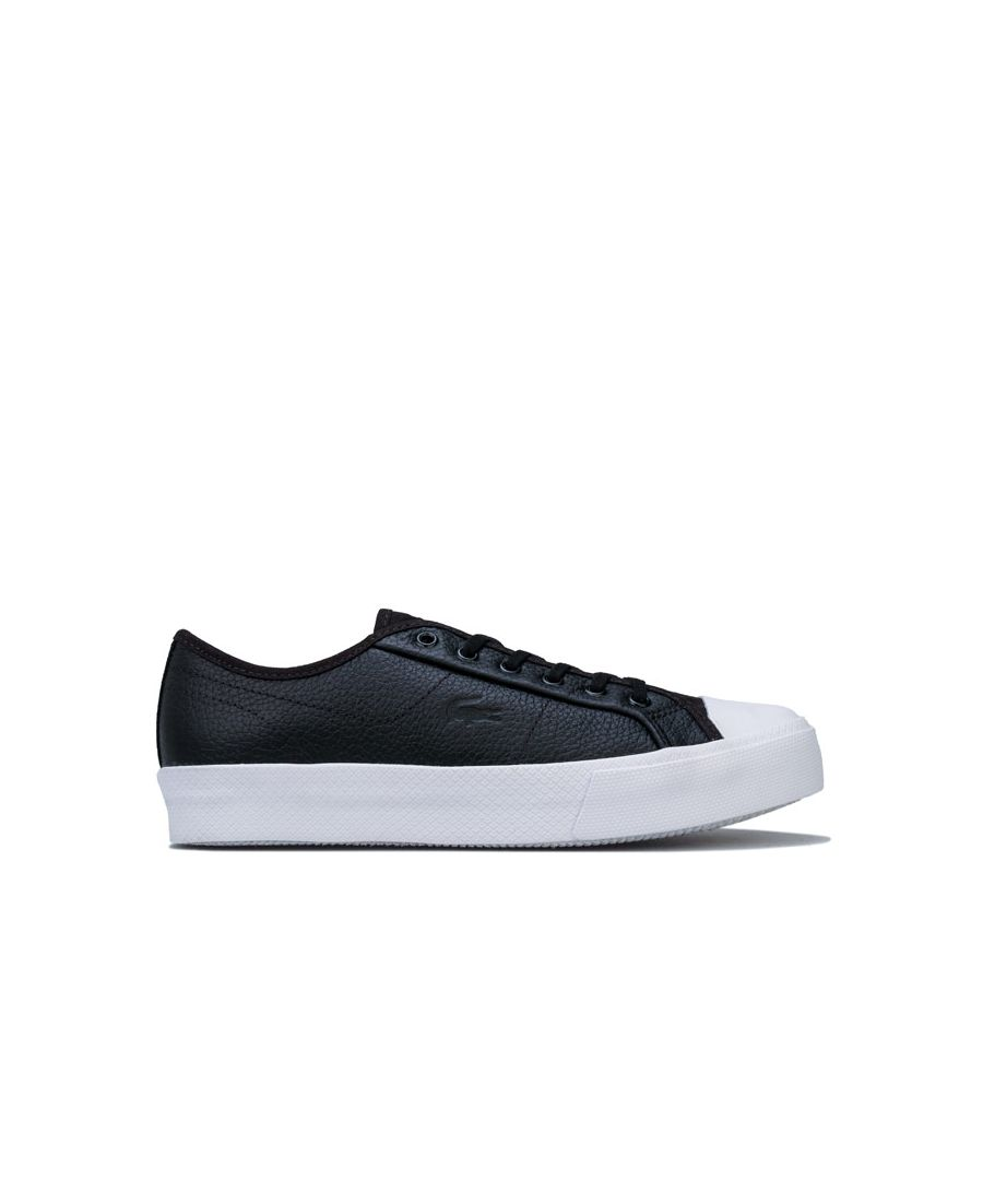 Image for Women's Lacoste Ziane Plus Grand Trainers in Black-White