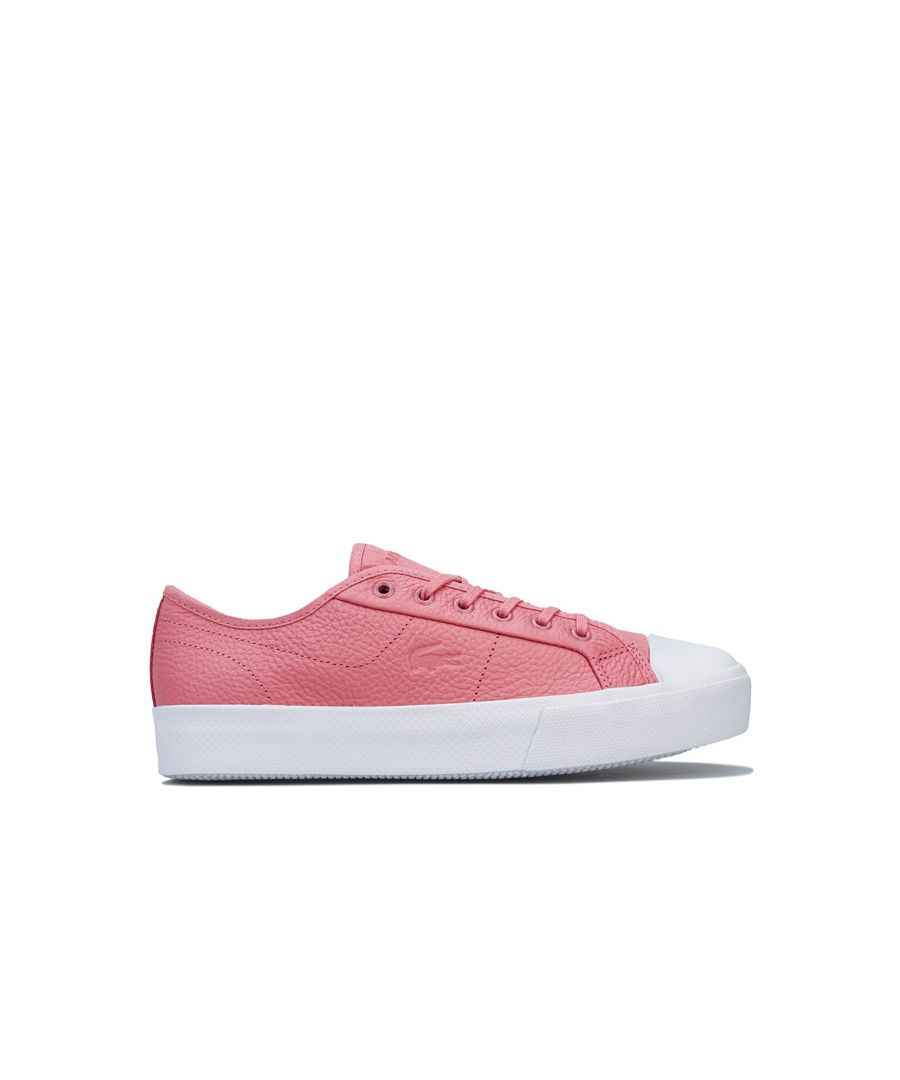 Image for Women's Lacoste Ziane Plus Grand Trainers in Pink white