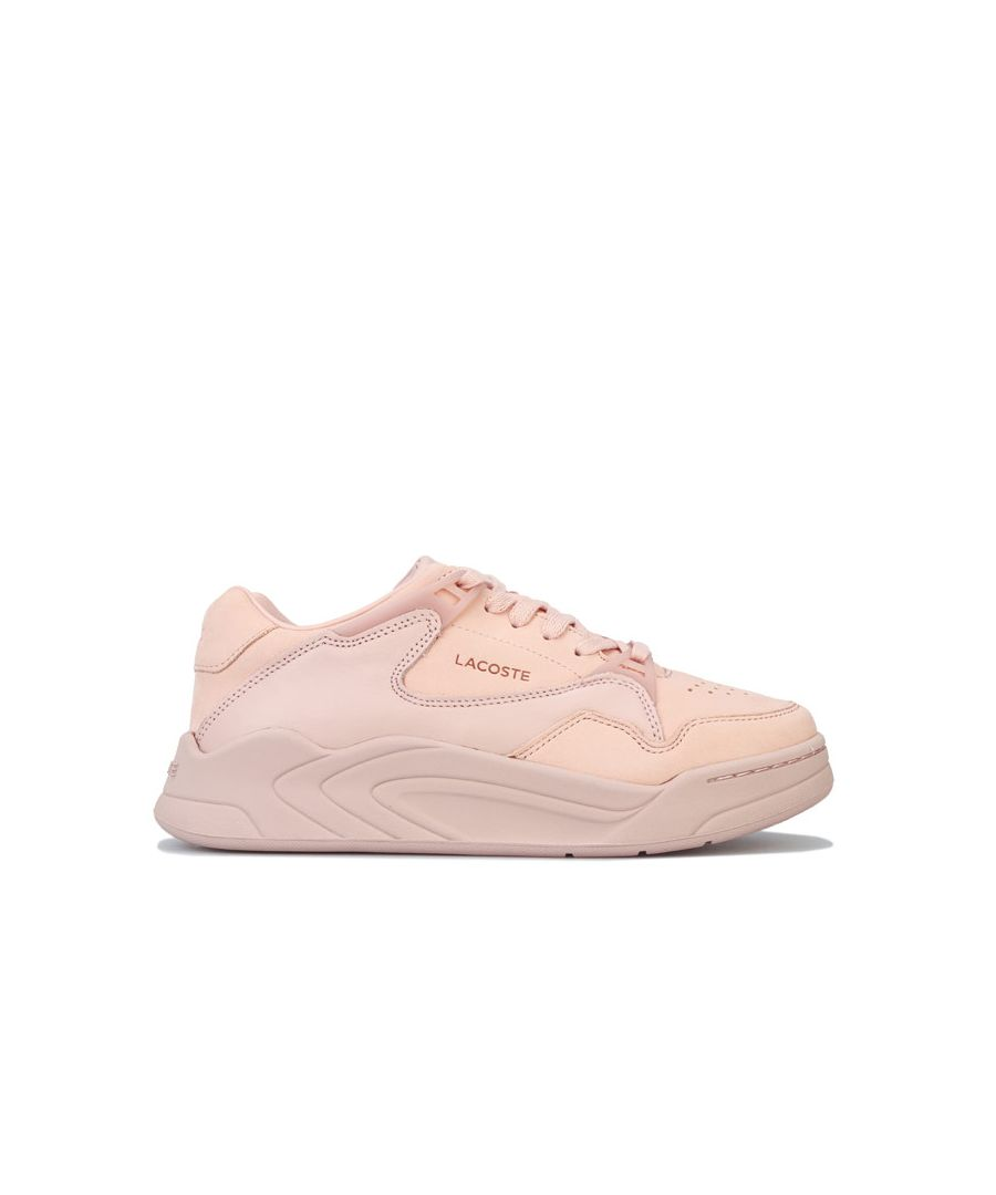 Image for Women's Lacoste Court Slam Trainers in Natural