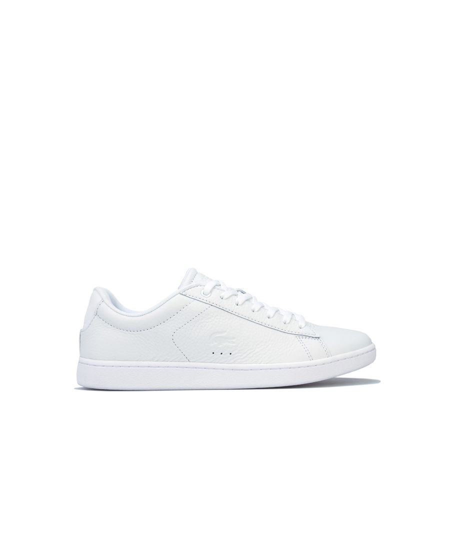 Image for Women's Lacoste Carnaby Evo Trainers in White