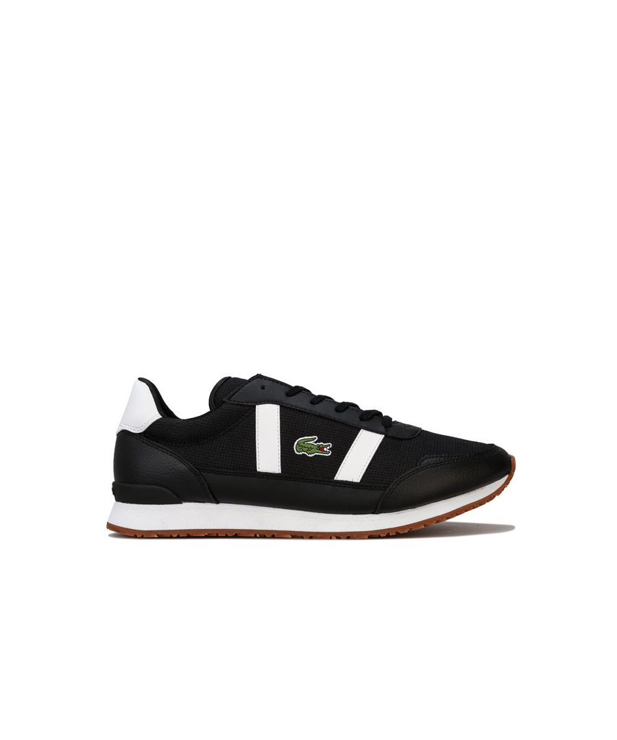 Image for Men's Lacoste Partner 319 Trainers in Black-White