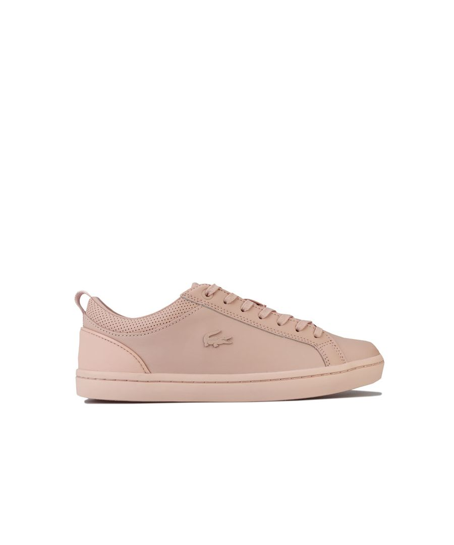 Image for Women's Lacoste Straightset 120 1 Trainers in Natural