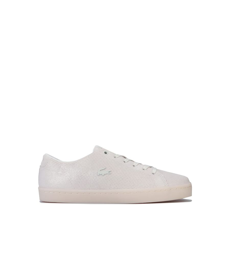 Image for Women's Lacoste Showcourt 2.0 Trainers in Off White